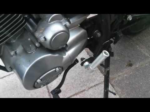 Skyteam V-Raptor 250 [4] Review 2556Km - New folding footpegs