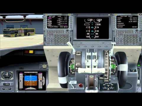 IFly Boeing 737 Tutorial Flight [GERMAN] part 1