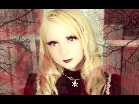 Romantic Gothic Lolita Makeup