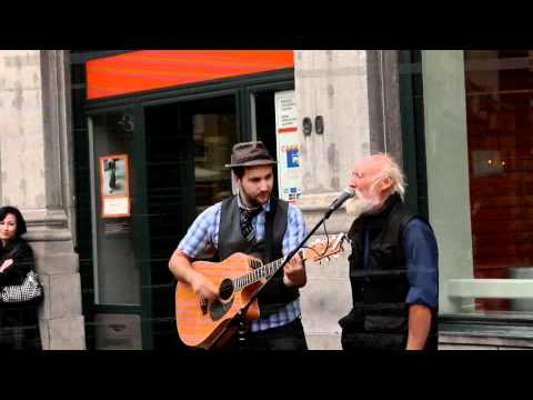 What a wonderful world (Louis Amstrong) - Simon Carrière rencontre Papy Blues à Bruxelles Music Videos