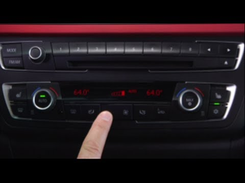 BMW Climate Controls - YouTube