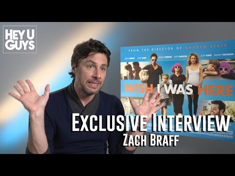 Zach Braff Interview - Wish I Was Here