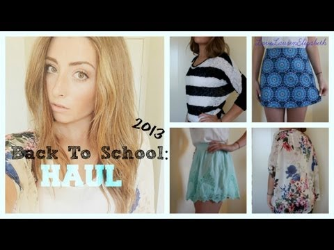 Back To School: Haul Feat. Westfield Mall, NastyGal, & ShopTobi!