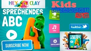 Sprechendes ABC by Hey-Clay.com App Demo Preview (Talking ABC German version)