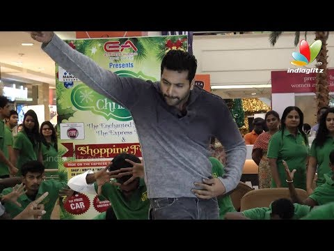 Jayam Ravi Danced At Flash Mob | Vijay Sethupathi, Suhasini | 11th Ciff 2013 video