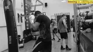 Тренировка боксера Рахима Чахкиева