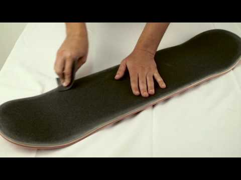 How To Grip a Skateboard Deck | Presented by MOB Grip