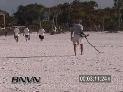 3/18/2006 Warm sunny Siesta Key Beach Footage