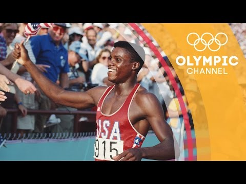The story of when Carl Lewis met Jesse Owens   On The Line