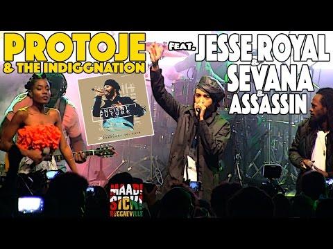 Protoje, Jesse Royal, Sevana & Assassin - Sudden Flight in Kingston, Jamaica [Feb. 20th 2016]