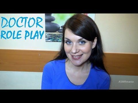ASMR/АСМР видео: Ролевые Игры. Мануальный терапевт. Массаж. (Whisper. Role play. Massage)