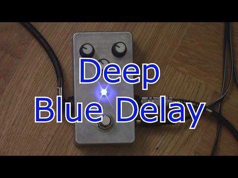Deep Blue Delay.Замечательная педаль.