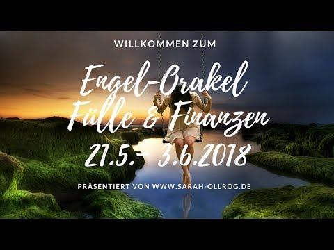 Engel-Orakel der Fülle und Finanzen I Lebensaufgabe I Beruf I 21.5. - 3.6.2018