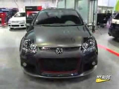 Volkswagen Golf-Volkswagen R-GTI video �zle