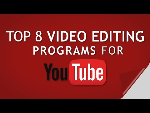 TOP 8 Best Video Editing Software Programs For YouTube | FREE + ADV + PRO