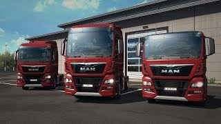 MAN TGX Euro 6 is joining Euro Truck Simulator 2