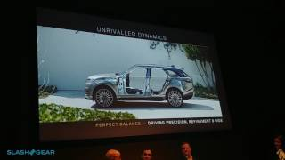 Range Rover Velar Engineering and Technology Briefing