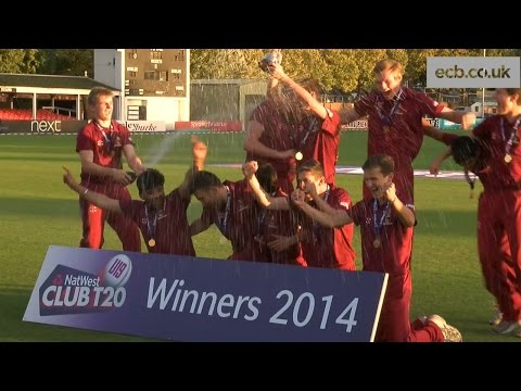 Bexley Rangers beat Sunbury Chieftains to win the NatWest U19 Club T20 at Leicestershire's Grace Road. England and Nottinghamshire star Stuart Broad was present to hand over the trophy to...