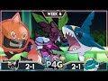 TOO MANY HAZARDS! St. Louis Rampardos Vs Miami Donphans P4G S3 W4 | Pokemon Ultra Sun and Moon