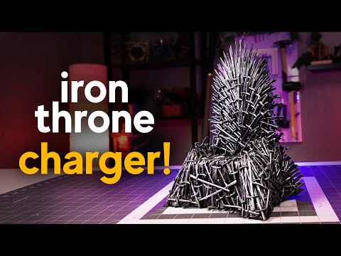 Making An Iron Throne Phone Charger Diy