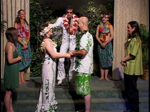 The Las Vegas Elvis Wedding of Alison and Ernesto! Video