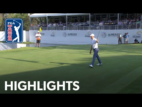 Justin Thomas shoots 6-under 65 | Round 3 | WGC-Mexico