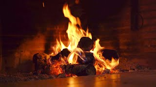 Fireplace 10 HOURS full HD • Soft Jazz Saxophone Music • The Most Romantic and Relaxing on YouTube!
