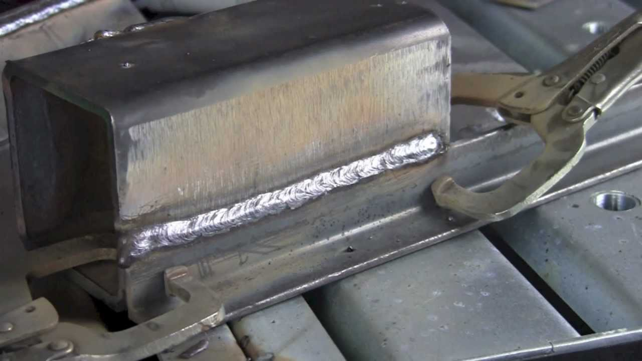 STICK WELDING CARBON STEEL WITH LINCOLN CODE ARC 7018 ROD ...