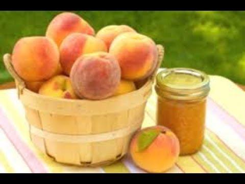 Варенье из персиков.Как приготовить персиковое варенье.