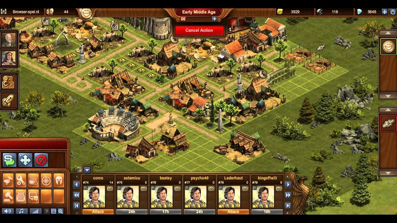 Forge of empires player ranking