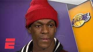 NBA trade deadline is water under the bridge for Lakers - Rajon Rondo | NBA Interview