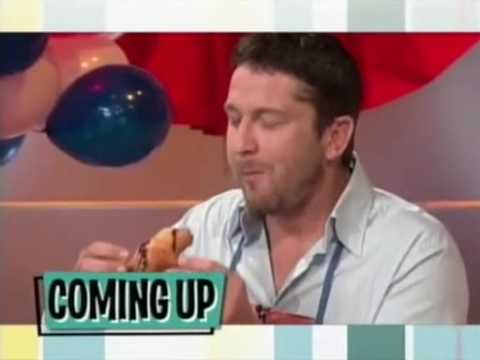 Gerard Butler & Chicken Charlie on The Bonnie Hunt Show Pt. 2