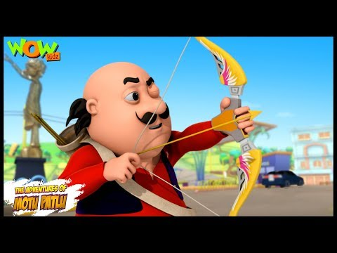 Motu Ki Teerandazi - Motu Patlu in Hindi - 3D Animation Cartoon - As on Nickelodeon thumbnail