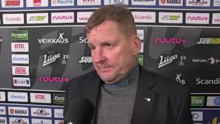 03.01.2017 Lukko vs. Kärpät: valmentajan analyysi