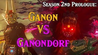 Season 2nd Prologue: Ganondorf VS Ganon! in Four Links Adventures within Zelda Breath of the Wild