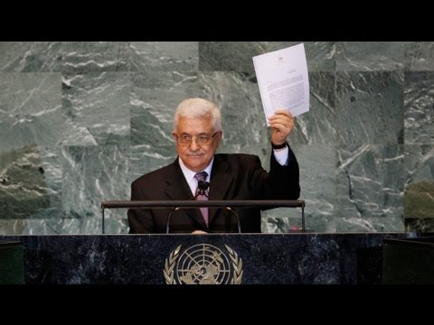 Abbas applies for UN recognition of Palestine