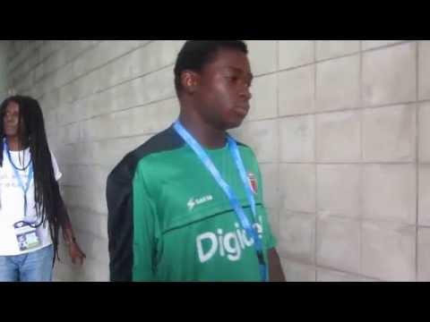 Mondial U20: Haiti vs St Kitts: dans le couloir d'Ato Boldon