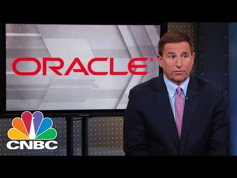 Oracle CEO Mark Hurd: Dominance In A Tough Market | Mad Money | CNBC