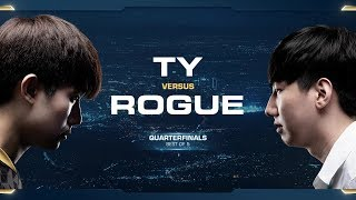 Rogue vs TY ZvT - Quarterfinals - 2018 WCS Global Finals - StarCraft II
