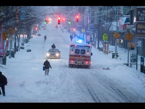 'Potentially Historic' Blizzard in US East Coast, 1700 Flights Cancelled 2