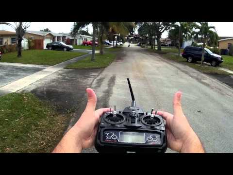 KK2.1.5  PI gain settings Tunning Auto Level X700 Hexacopter X6