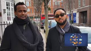 Bereket Tesfaye and Samuel T. Michael Live from London - AmlekoTube.com