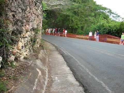 Guajataka 2010  Final corner, downhill  race Puerto rico