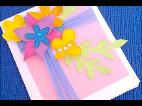 Поделка для бабушки своими руками из бумаги на день рождения 42