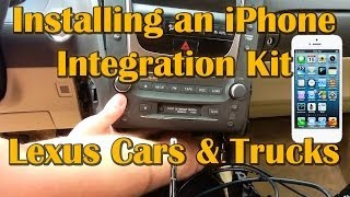 How-to Install iPhone Integration Kit (Vais ) on Lexus Cars & Trucks