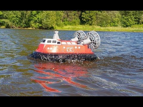Летний тест судна на воздушной подушке!