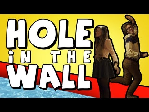 Hole in the Wall – (Kinect With Girlfriend)