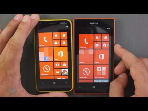 Nokia Lumia 520 Nokia Lumia 520 vs Nokia
