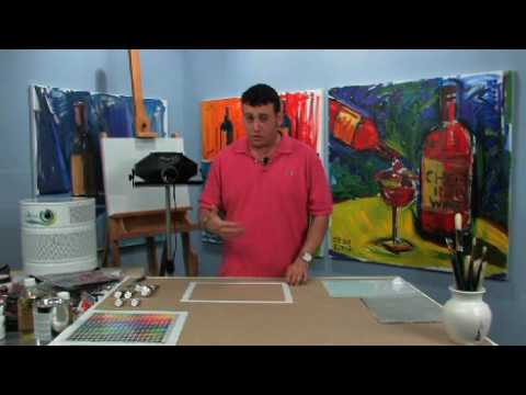 Oil Painter s Studio: Projector