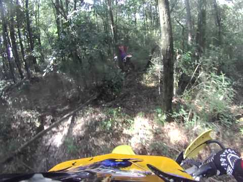 Enduro Ride at Theodore AL